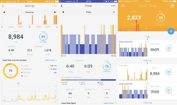 Withings health tracking iPhone app