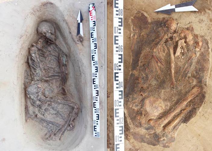 Medieval burial