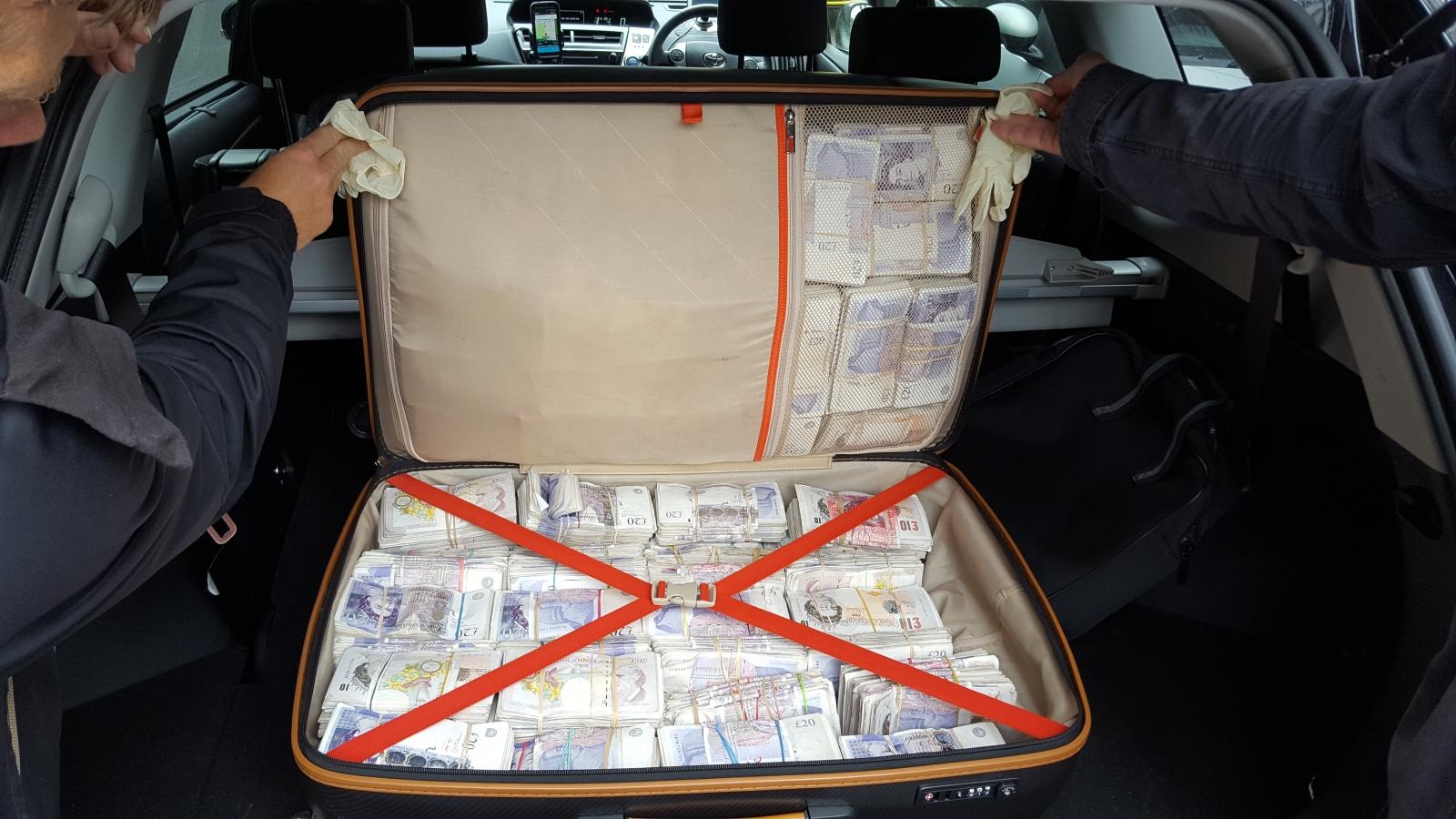 money found taxi