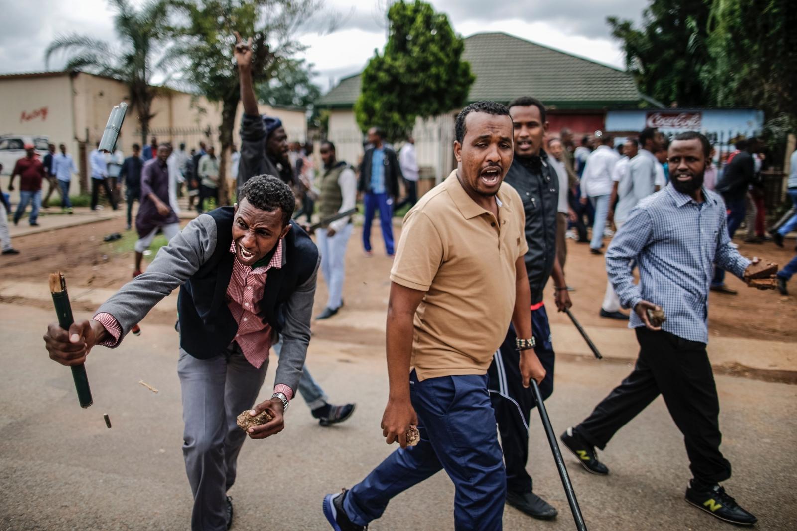 South Africa foreigners xenophobia pretoria
