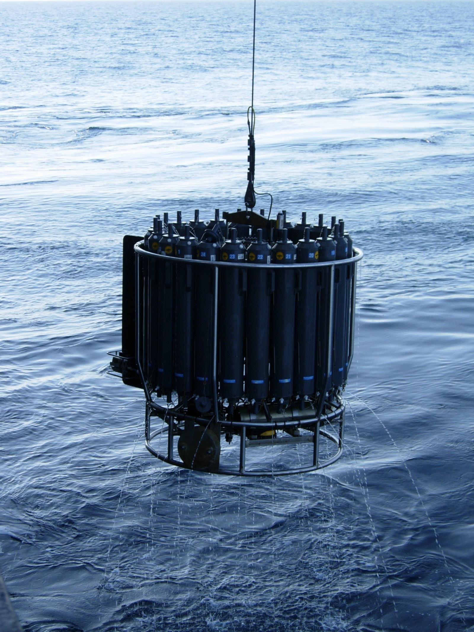 Methane sampling equipment