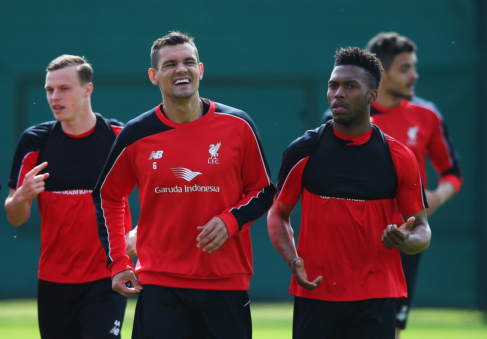 Dejan Lovren and Daniel Sturridge