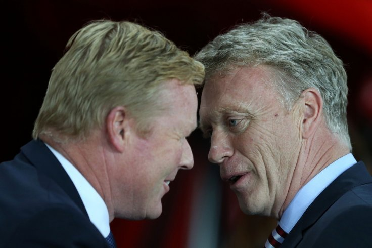 David Moyes and Ronald Koeman