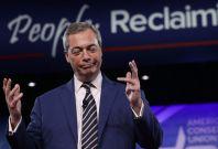 Nigel Farage speaks at CPAC
