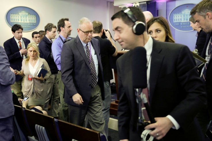 Sean Spicer press