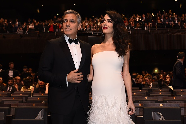 George and Amal Clooney Are Picture Perfect at the 2017 César Awards