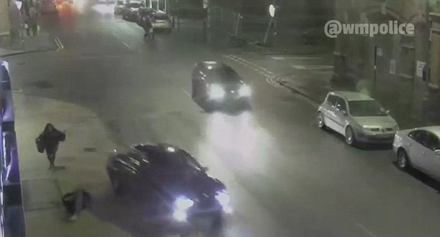 Girl mowed down in hit-and-run