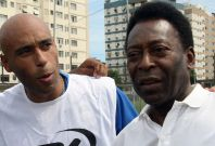 Pele and son Edinho