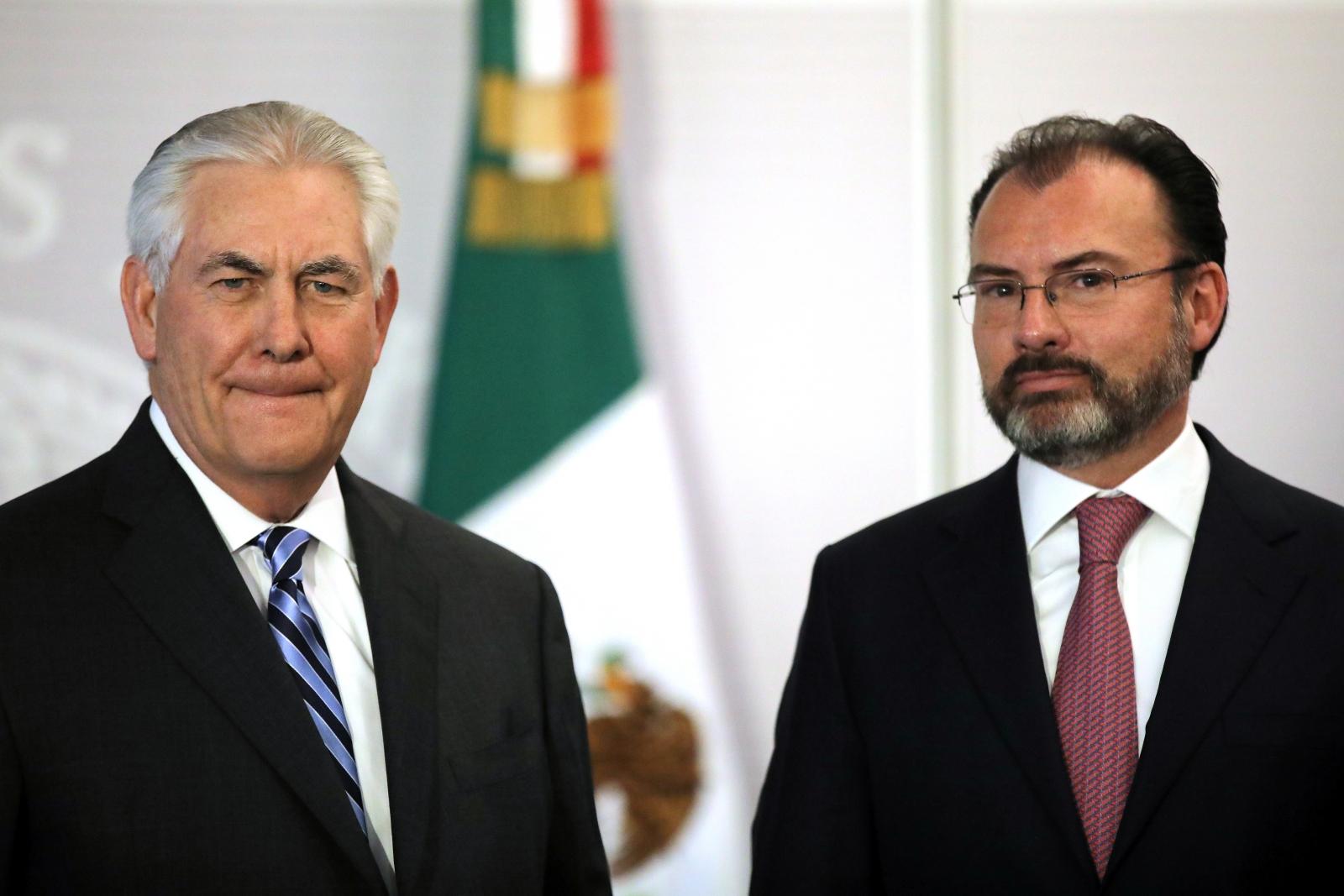 Tillerson and Videgaray