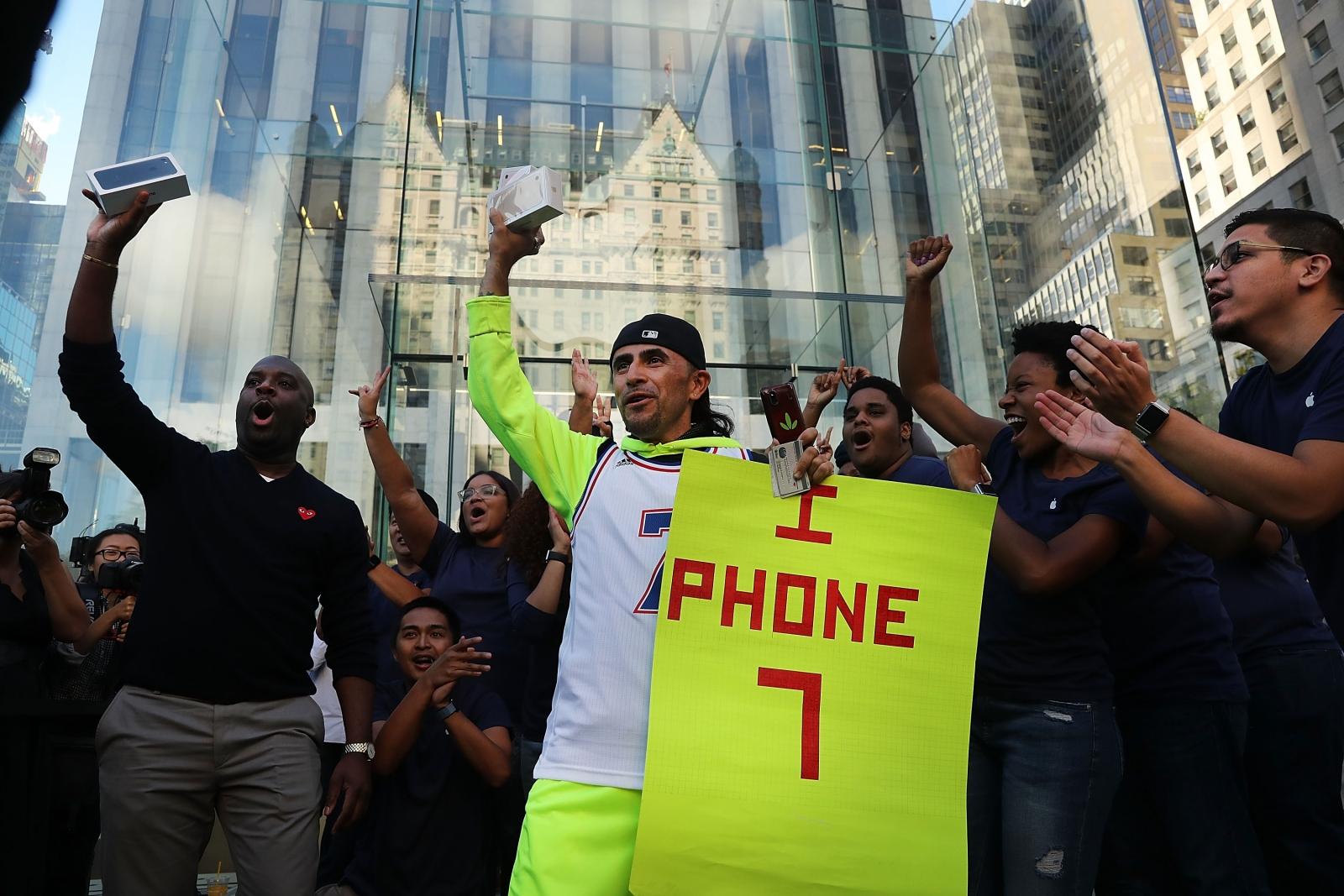 iPhone 7 Plus caught fire