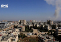 Syrian Army air strikes target rebel-held Homs area following suicide bomb attacks