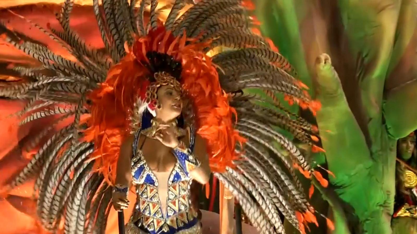 Colourful carnival season begins in Rio de Janeiro