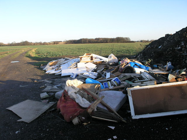 Farm fly tipping