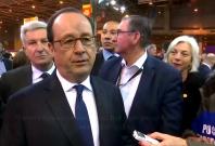 Francois Hollande calls Trump out on Paris comment