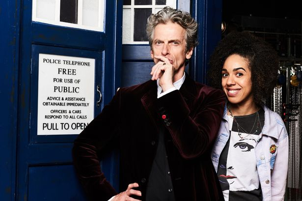 Doctor Who Peter Capaldi Pearl Mackie