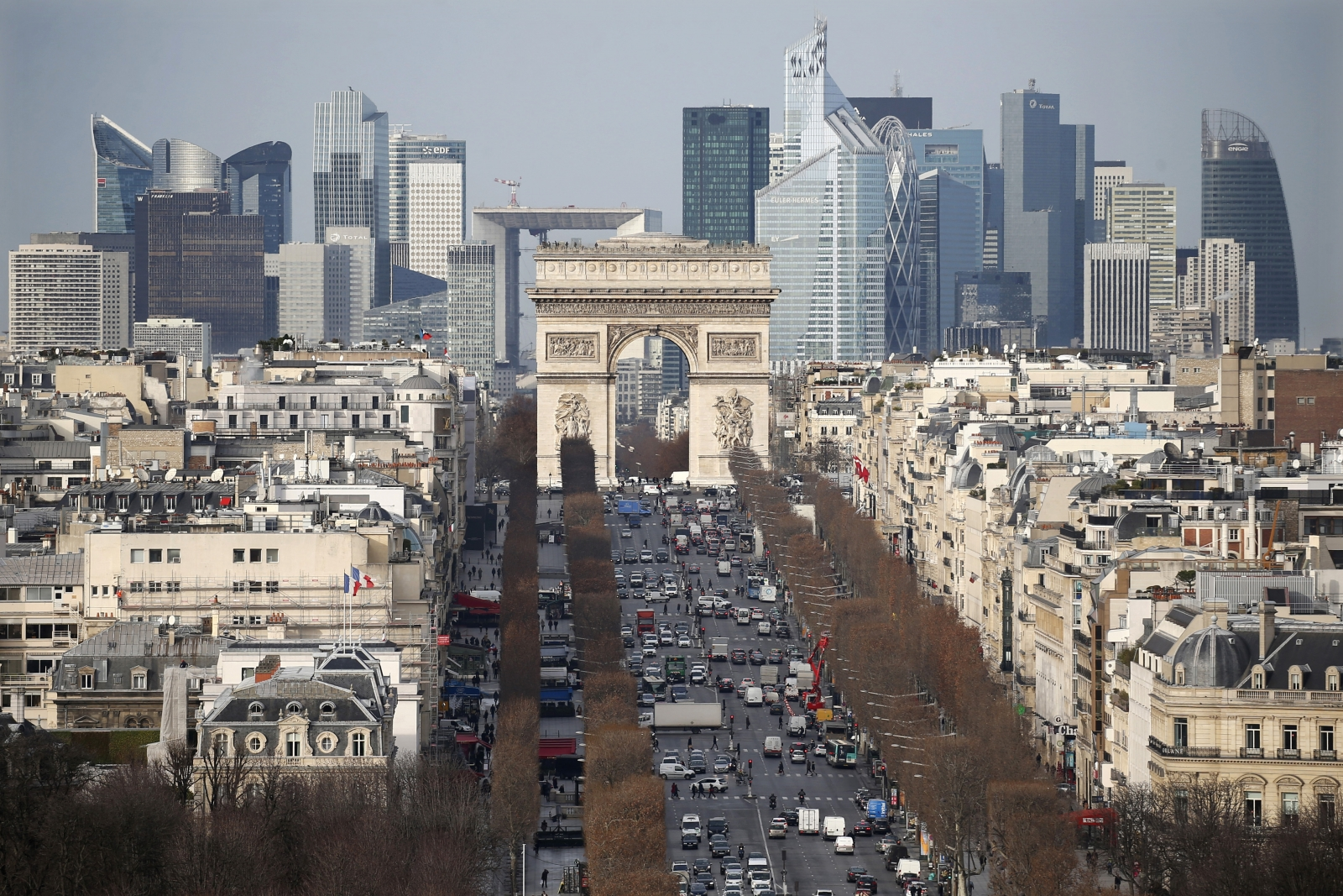 Champs Elysees Avenue