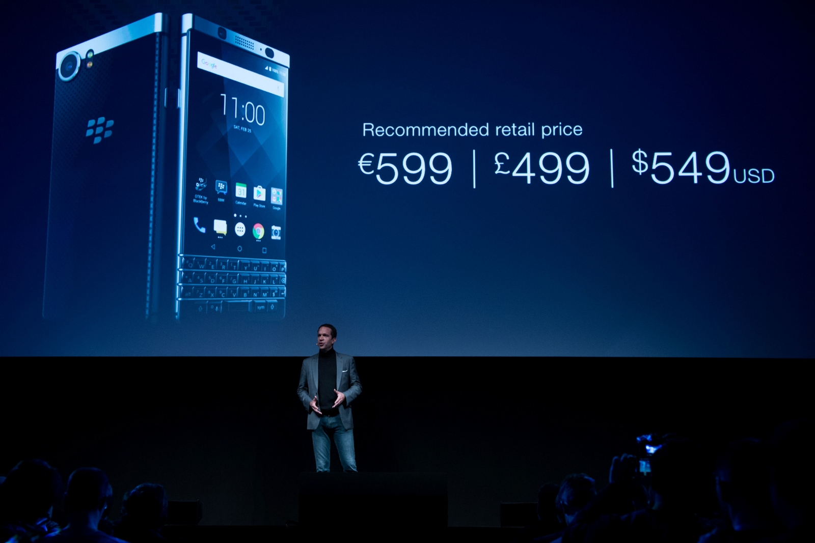 The BlackBerry KEYone launch
