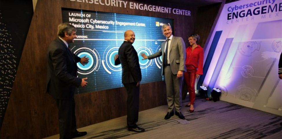 Microsoft Cybersecurity Engagement Center in Mexico