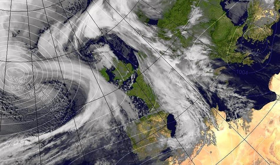 Storm Ewan looms over Britain bringing gales, rain and snow