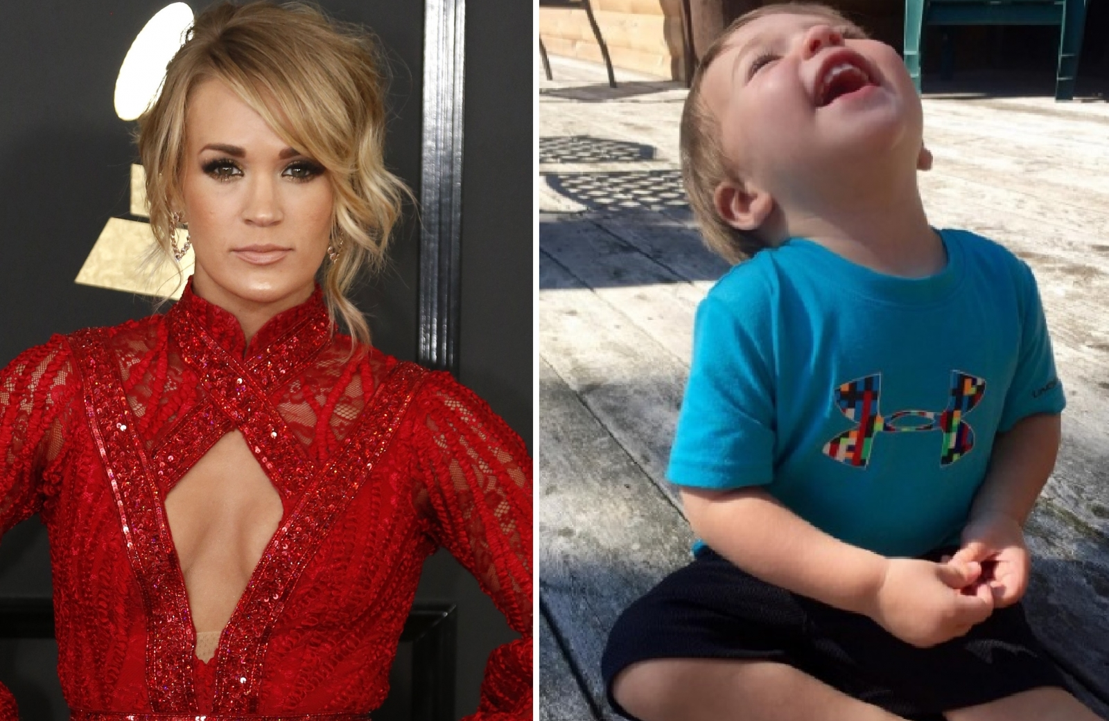 Carrie Underwood son Isaiah Fisher