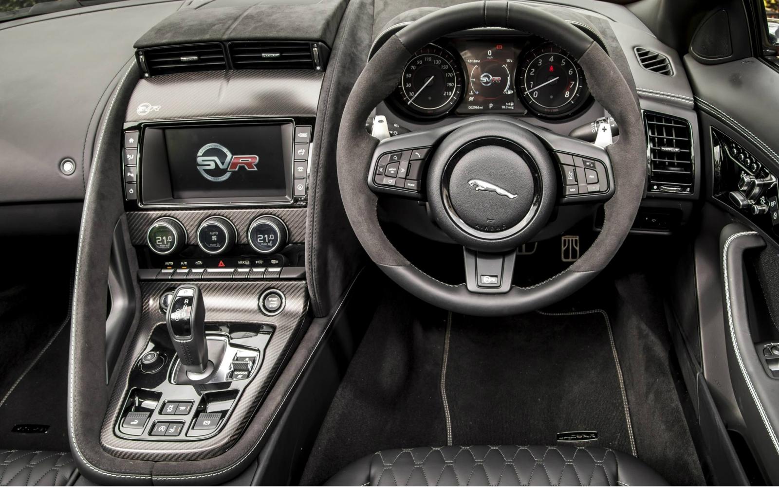 Jaguar F-Type SVR Coupe review