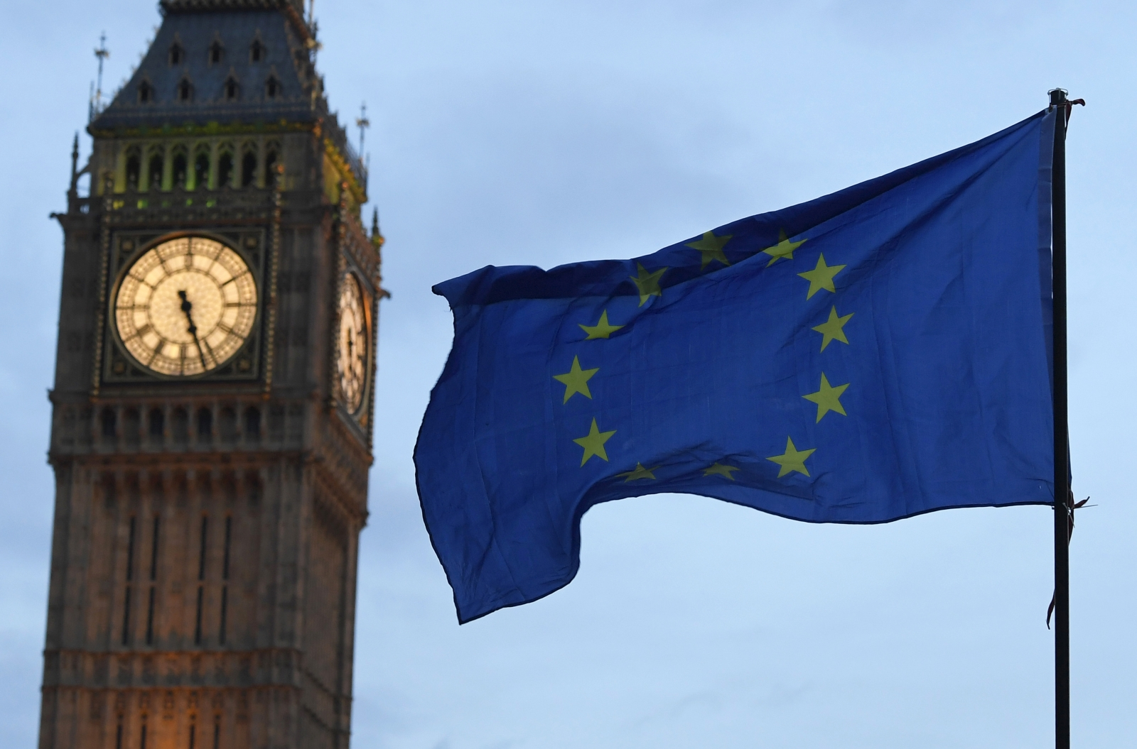 European flag big ben