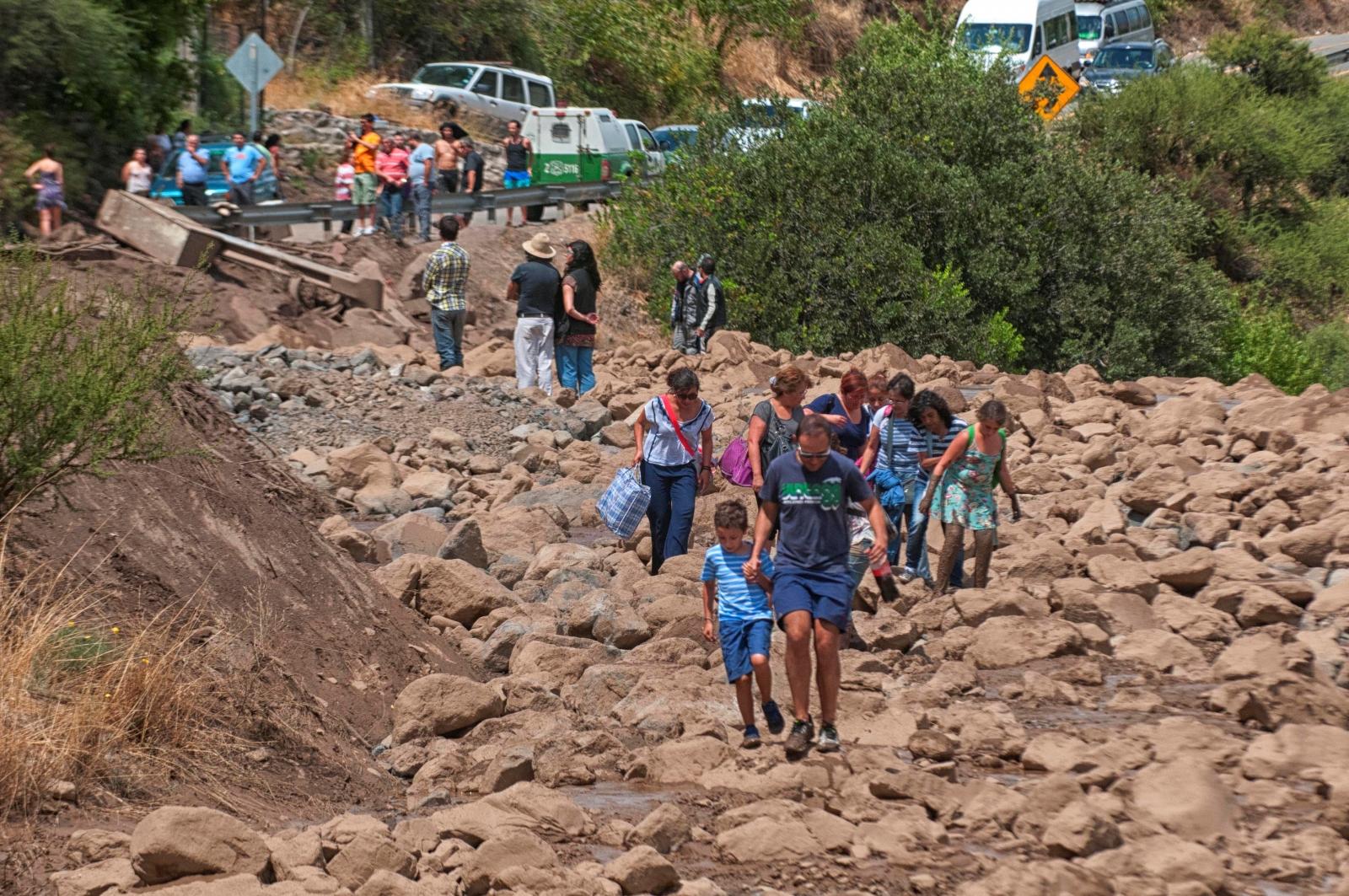 Chile floods leave 4 million people in santiago without water for Marmolerias en santiago de chile