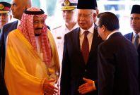 Saudi king in Malaysia