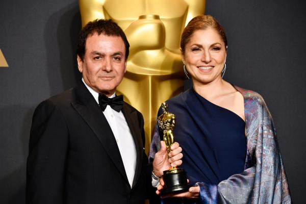 Firouz Naderi and Anousheh Ansari