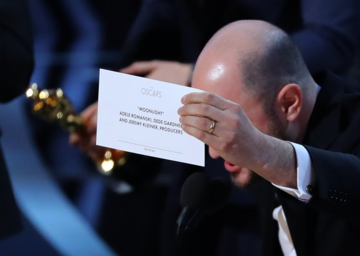 Jordon Horowitz Best Picture winner Moonlight.