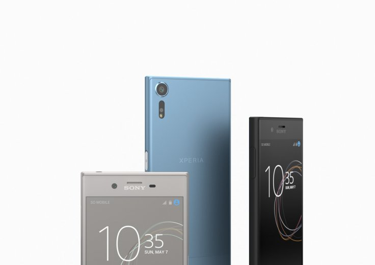 Sony Xperia XZs colours