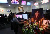 Rudaw newsroom mourns Shifa Gardi