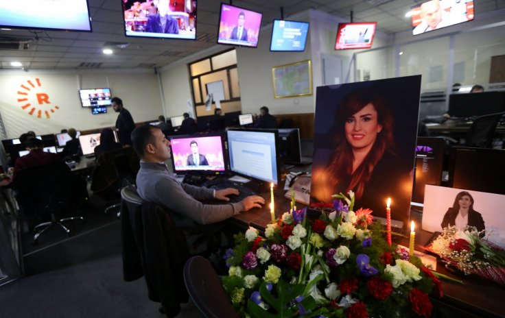 Rudaw newsroom mourns Shifa Gardi