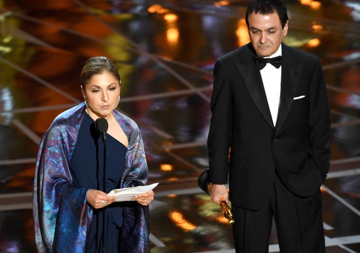 Anousheh Ansari and Firouz Naderi