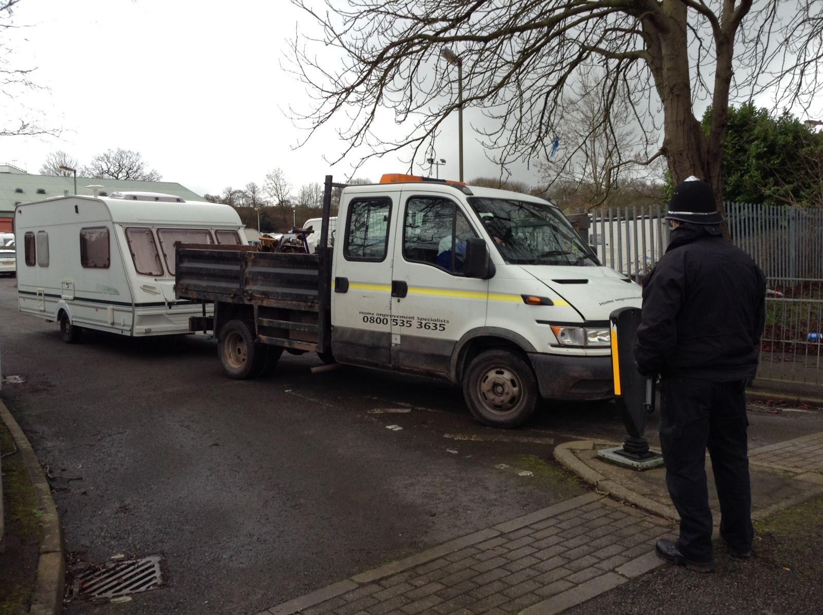 travellers evicted