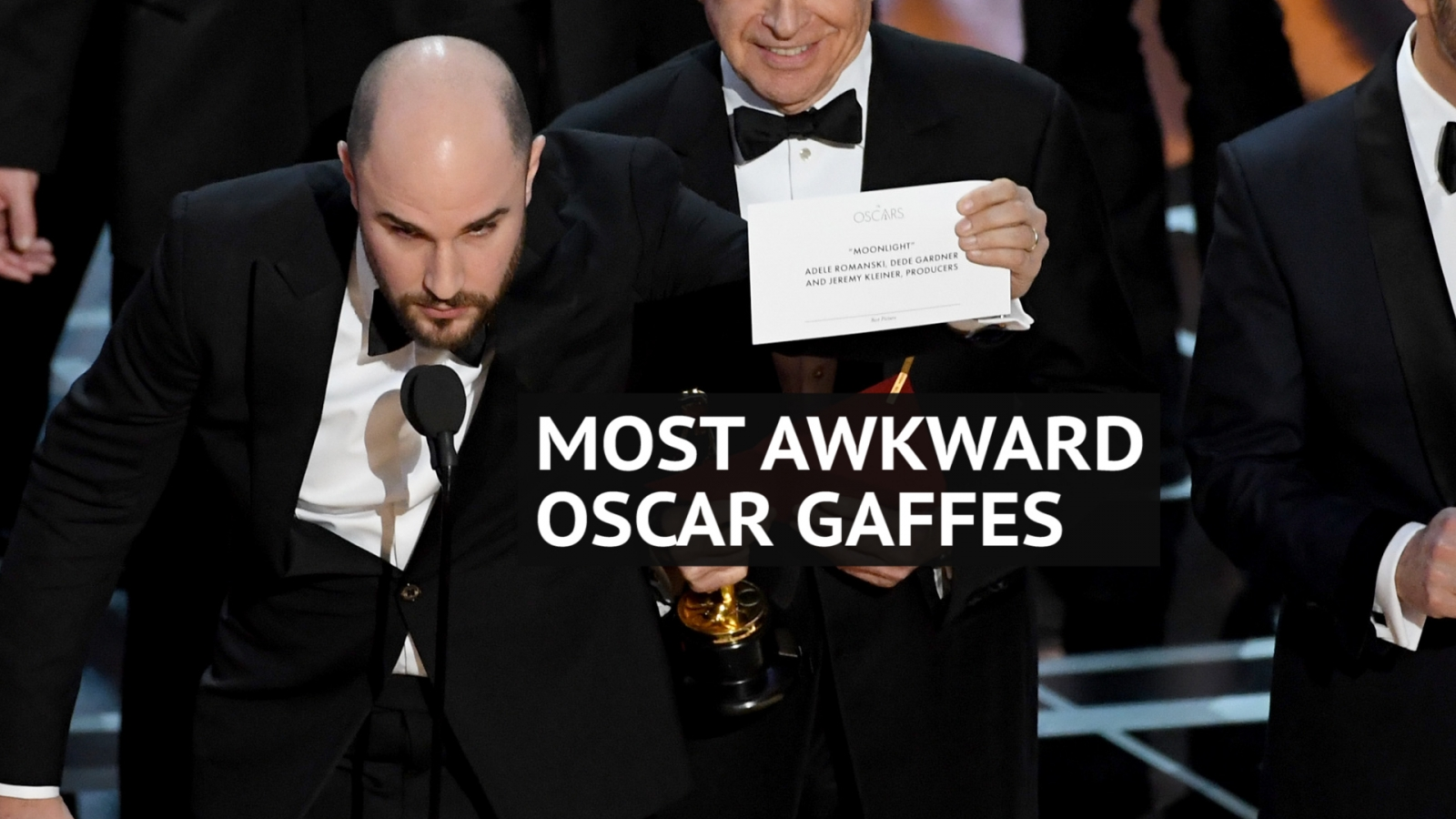 Was the La La Land Best Picture gaffe the most awkward moment in Oscars history?