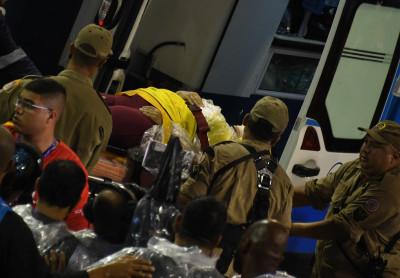 Rio de Janeiro Carnival 2017 accident