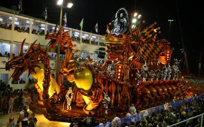 Rio de Janeiro Carnival 2017 Academicos do Salgueiro