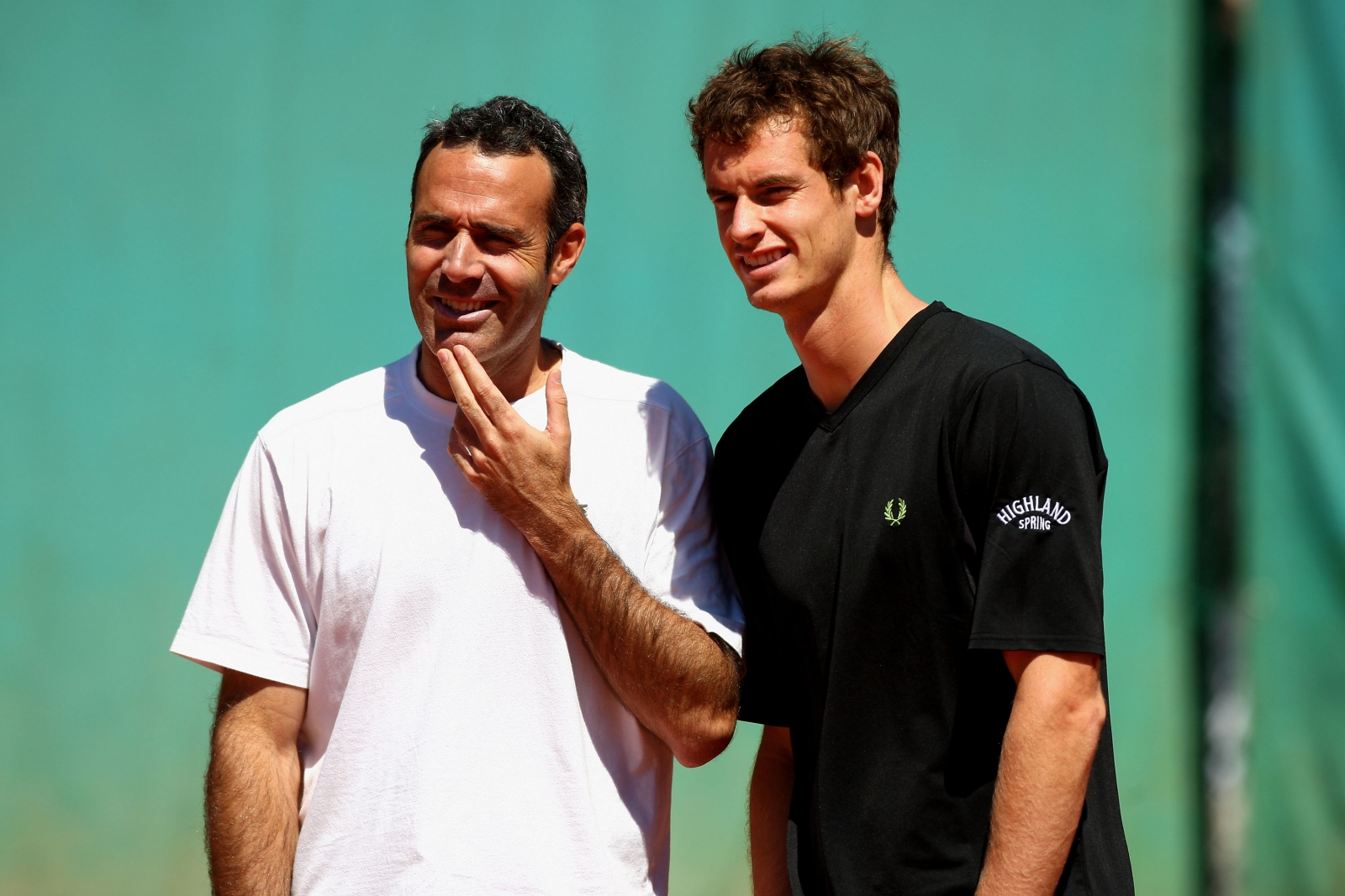 Alex Corretja and Andy Murray