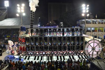 Rio de Janeiro Carnival 2017 Vila Isabel