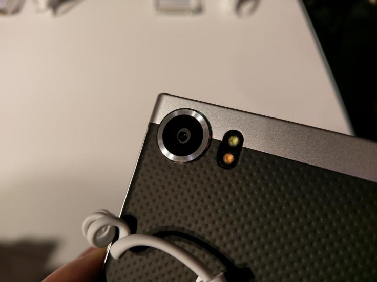 BlackBerry KeyOne camera