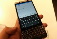 BlackBerry KeyOne keyboard