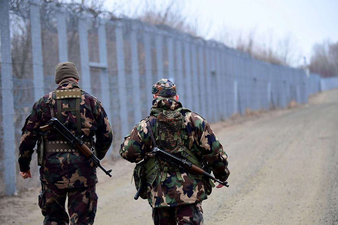 Hungary Serbia border