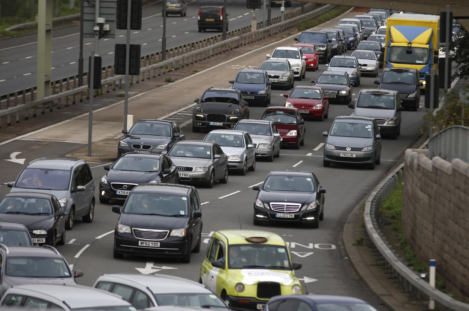 traffic london