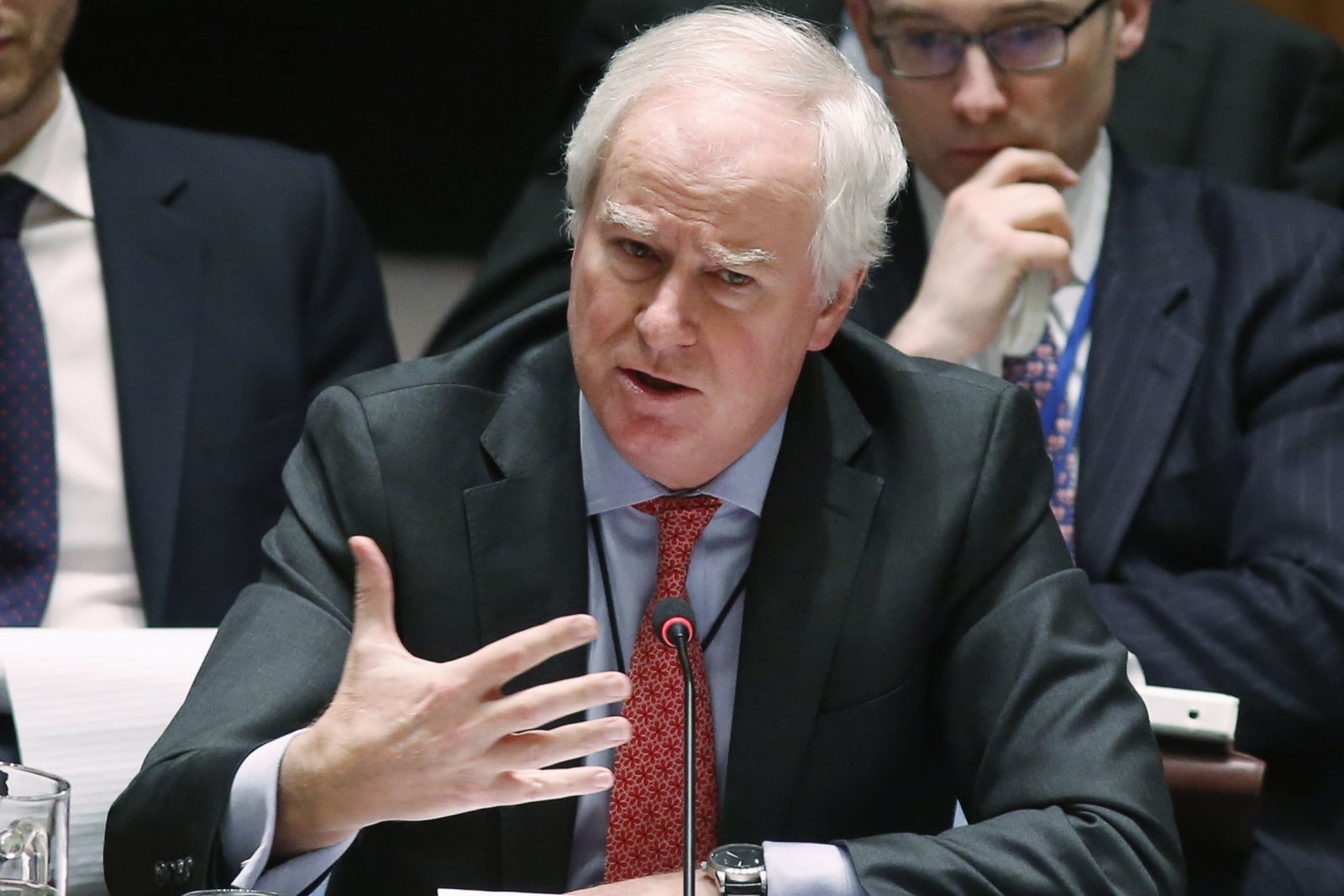 Sir Mark Lyall Grant the UK national security adviiser is leaving his post after just 18 months