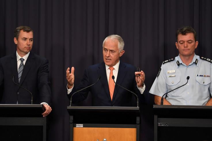 Australia police terror raid