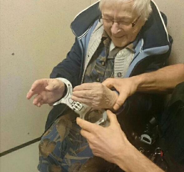 99 year old arrested