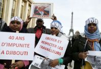 Djibouti opposition protest