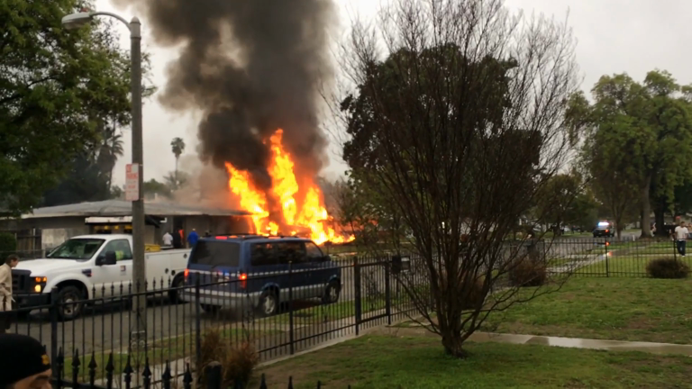 Three dead, two injured after light plane crashed into California home