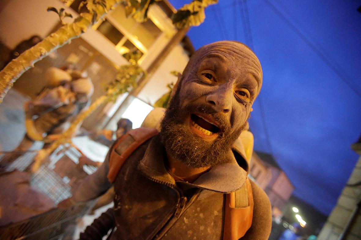 Flour wars of carnival season